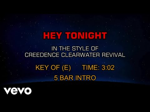 Creedence Clearwater Revival - Hey Tonight (Karaoke) mp3