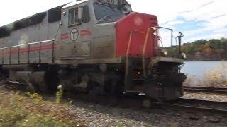 MARC 66 (GP40WH-2) at Crystal Lake - MBTA Commuter Rail