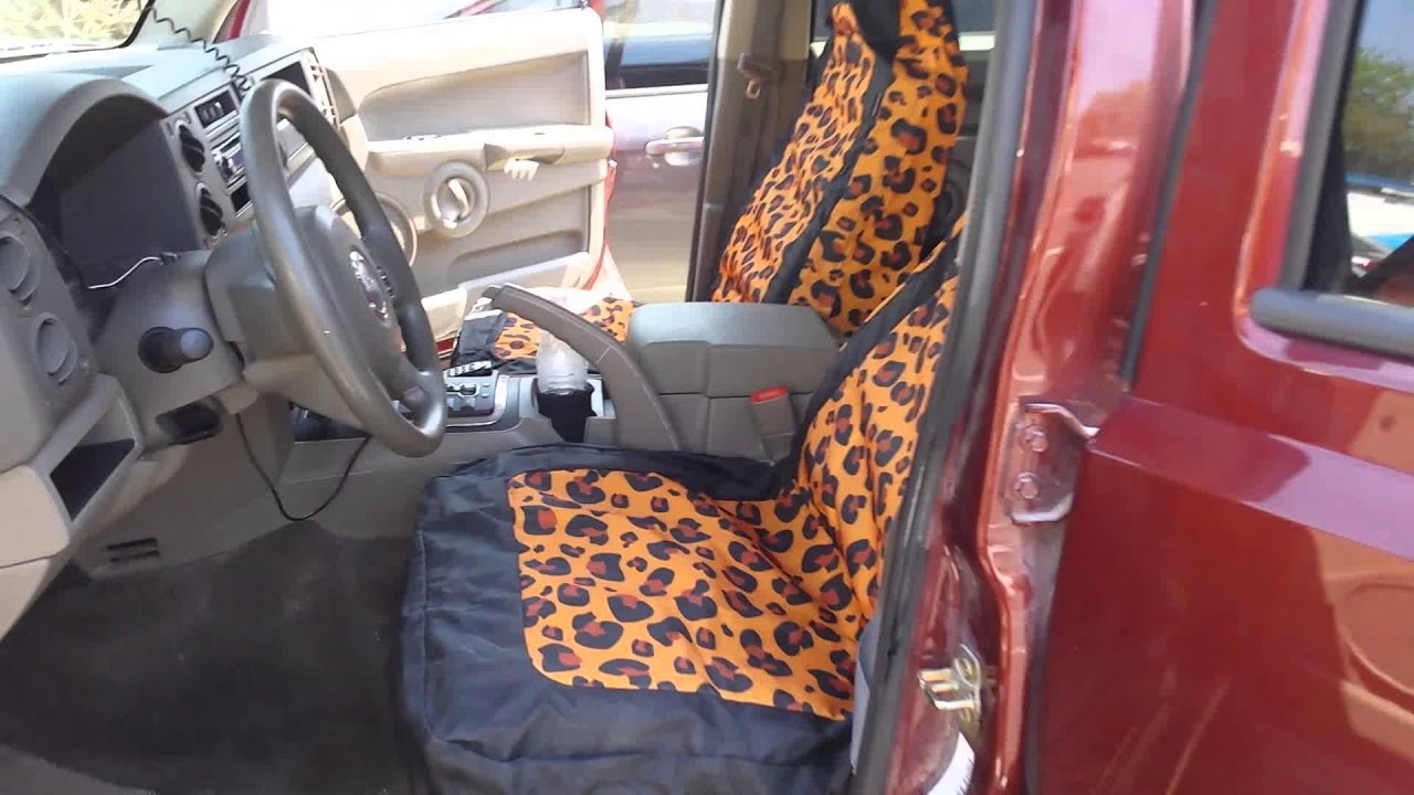 Leopard Print Car Seat Covers By Leader Accessories