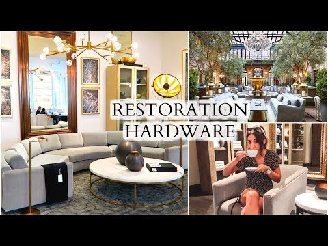 SHOP WITH ME AT RESTORATION HARDWARE GALLERY IN CHICAGO!