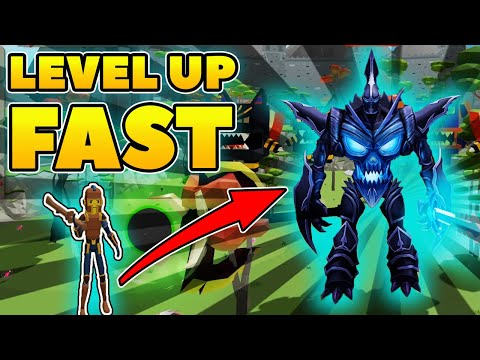 HOW TO LEVEL FAST In Roblox Giant Simulator