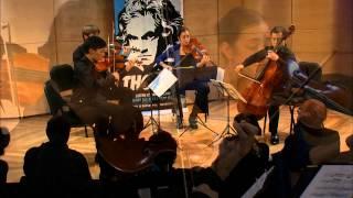 Beethoven String Quartet No. 3 in D Major,  Op. 18, No. 3 - Parker Quartet (Live)