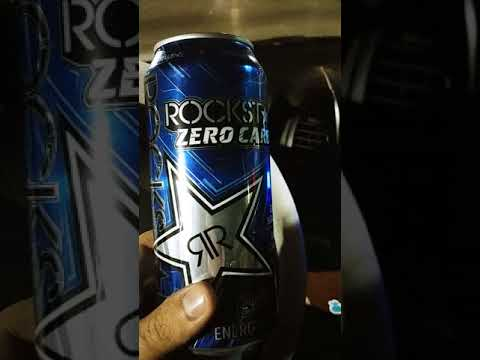 Rockstar Zero Carb -Energy Drink Review