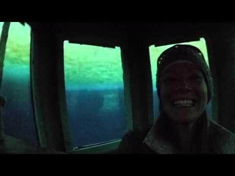 Under-Sea-Ice Observation Tube at McMurdo Station, Antarctica