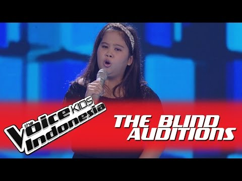 """Jasmine """"Cool Kids"""" I The Blind Auditions I The Voice Kids Indonesia GlobalTV 2016"""