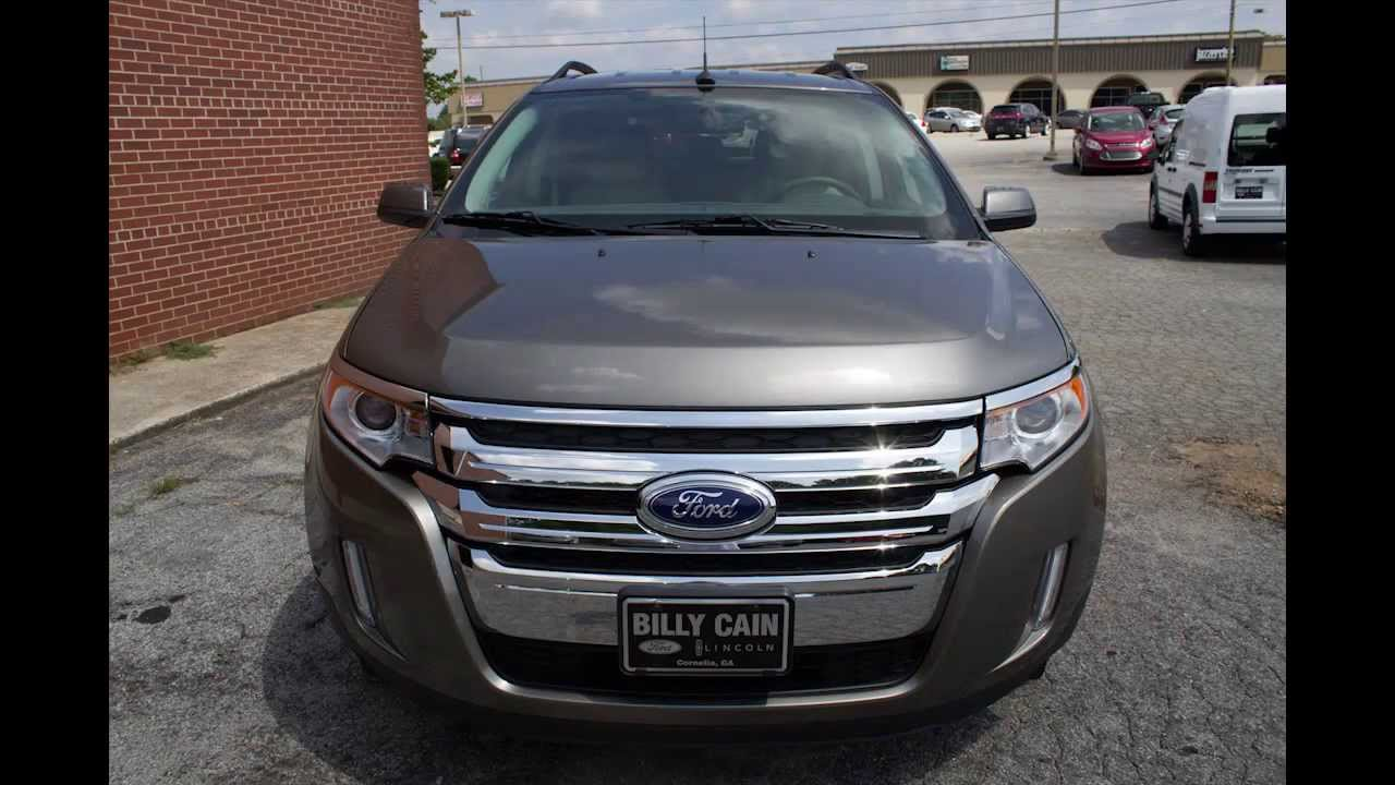 Billy Cain Ford >> Billy Cain Ford Lincoln Cornelia -- Stock #20257 - New 2013 Ford Edge Limited - YouTube