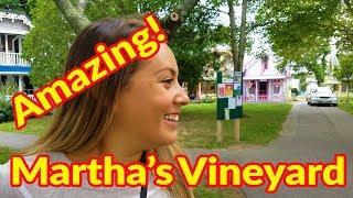 Full Time RV Living | Bike & Walking Tour of Martha's Vineyard | S2 EP096