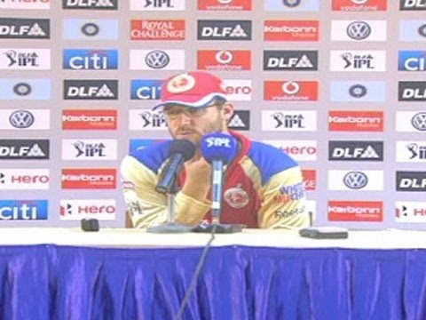 Daniel Vettori, player of Royal Challengers Bangalore