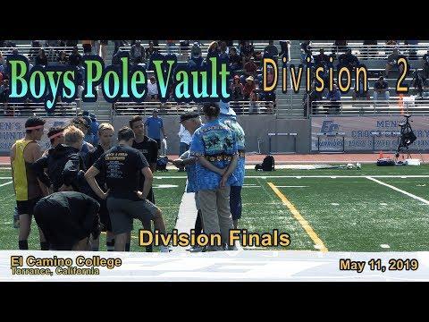 2019 TF - CIF-ss Finals (D2) - Pole Vault (Boys)