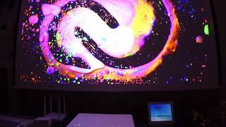 샤오미 미 레이저프로젝터 테스트 xaiomi mi laser projector test - xaiomi action cam