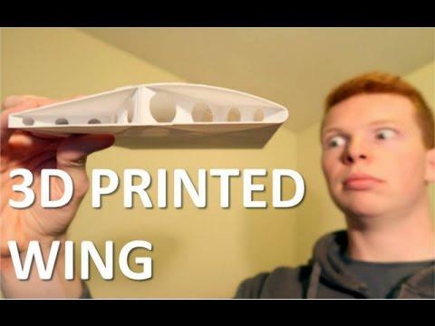 0 - Selbst designtes 3D gedrucktes Modellflugzeug aus PLA - Update