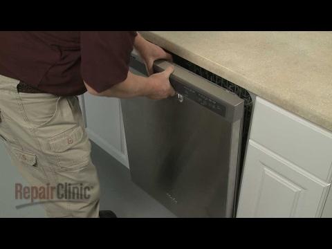 Control Panel - Whirlpool Dishwasher Repair