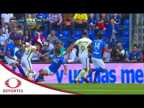 Resumen Cruz Azul 3 - 4 América | Jornada 8 - Apertura 2016 | Televisa Deportes