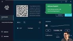 Einführung IOTA Trinity Desktop Wallet (beta) [DE]. Installtion, Konfiguration, Benutzung