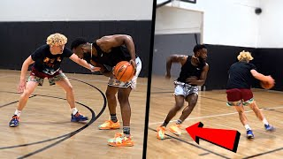 CashNasty FOULED Me HARD! Physical 1v1 Basketball!