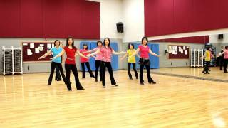 Tippy Tippy Toes - Line Dance (Dance & Teach in English & 中文)