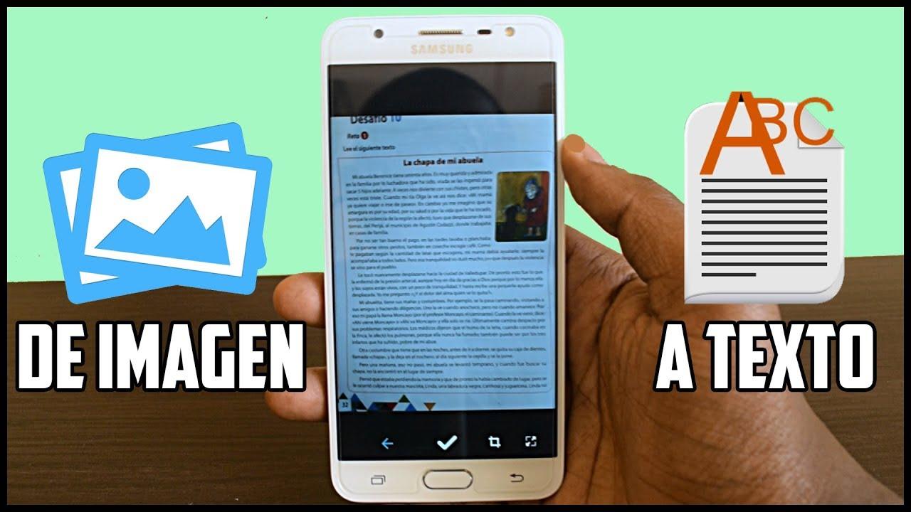 Esta App Convierte Imagenes En Texto Android Youtube