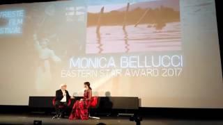 Моника Белуччи на фестивале в Триесте)
