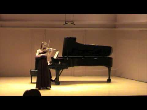 Chloe Trevor Beethoven Violin Concerto: Larghetto (part 4)