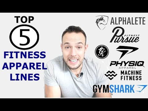 Top 5 Fitness Apparel Lines