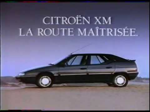 citroen xm publicit youtube. Black Bedroom Furniture Sets. Home Design Ideas