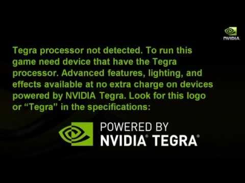 Запуск игр с Tegra на любых видео ускорителях