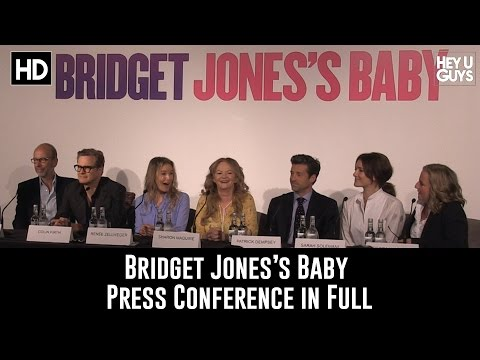 Bridget Jones's Baby Press Conference in Full (Renee Zellweger, Colin Firth & Patrick Dempsey)