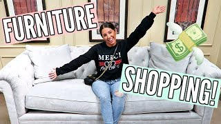 SHOP WITH ME AT MACY'S! FURNITURE FOR OUR NEW HOUSE!