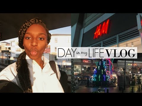 DAY IN MY LIFE VLOG: school, shopping, chipotle! | Coco Chinelo