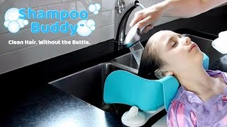 Shampoo Buddy: The End of the Hair Washing Battles