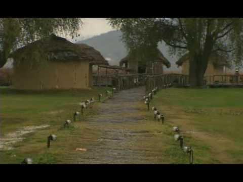lineos oikismos lacustrine settlement Kastoria