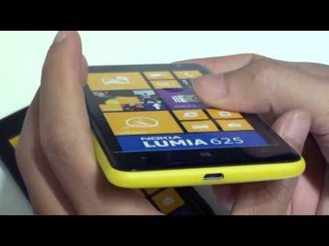 [Khui hộp] Nokia Lumia 625 - www.mainguyen.vn