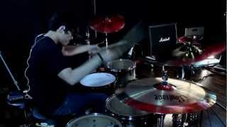 Satria Wilis - Memphis May Fire - The Sinner (Drum Cover)