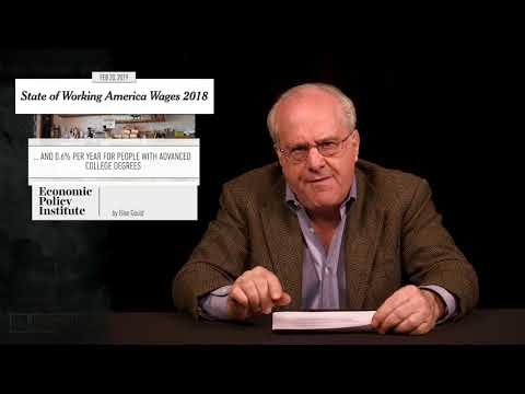 Richard Wolff: Stagnant wages & rising productivity - a system that doesn't work for the masses
