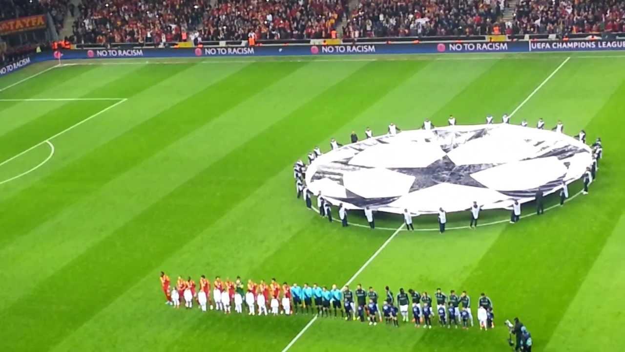 Real Madrid Şampiyonlar Ligi Maçı Açılış