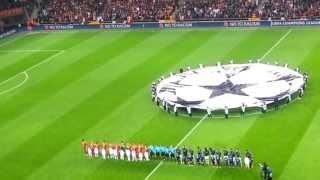 Galatasaray - Real Madrid Şampiyonlar Ligi Maçı Açılış Seramonisi 09.04.2013