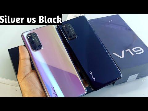 Vivo V19 Piano Black vs Mystic Silver !! About Vivo V19