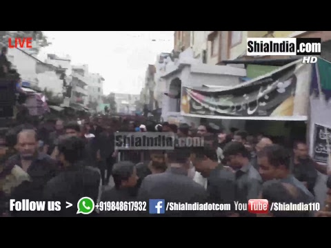 (Part2) 10th Muharram Bibi Ka Alam Procession 1439-2017-18