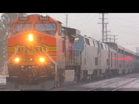 Thumbnail: BNSF Rescues Amtrak Southwest Chief & MORE !!! January 10th, 2015