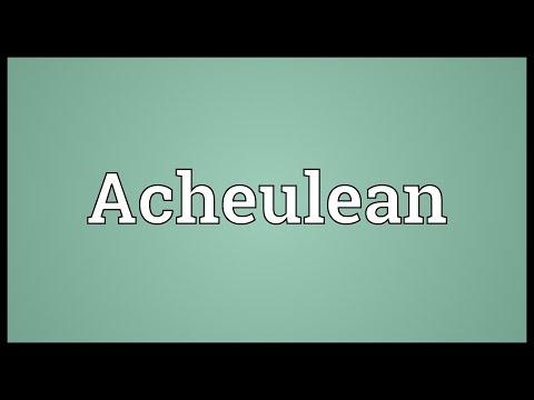 Header of Acheulean