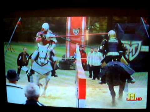 Full Metal Jousting is most assuredly STAGED!!! Here's proof
