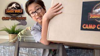 Cretaceous Chef Challenge | Jurassic World Camp Cretaceous At Your Door Challenge