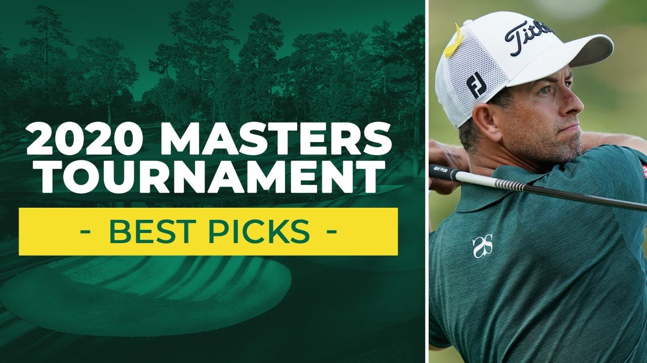 betting odds for masters golf tournament