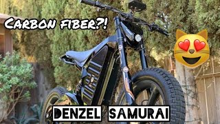 Denzel Samurai - Daily Driven Carbon Fiber Electric Bike
