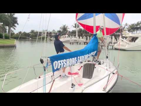 Offshore Sailing School - Spinnaker Windward Douse