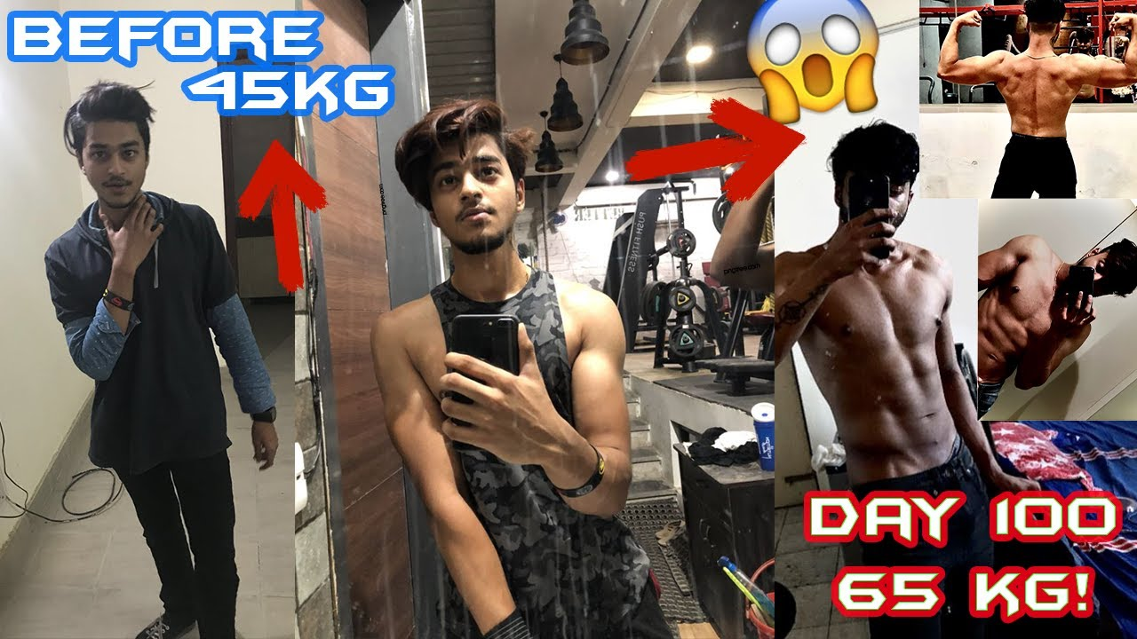 Download Natural body transformation| Skinny To Muscular | FitSoul 💪