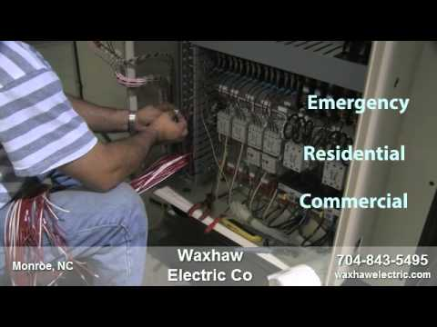 Waxhaw Electric Company - Electrical Contractors in Monroe, NC