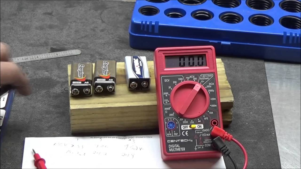 Low Battery Tester Harbor Freight : Proof a weak battery in your electrical tester will give