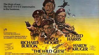 FILM TALK Reviews: The Wild Geese (1978) Richard Burton, Roger Moore, Richard Harris - Mark Priest