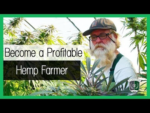 How to Farm #Hemp - Become a profitable industrial hemp farmer.